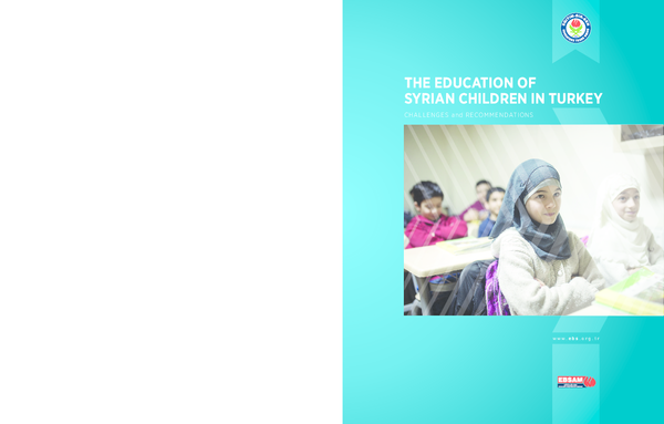 Pdf The Education Of Syrian Children In Turkey Challenges And