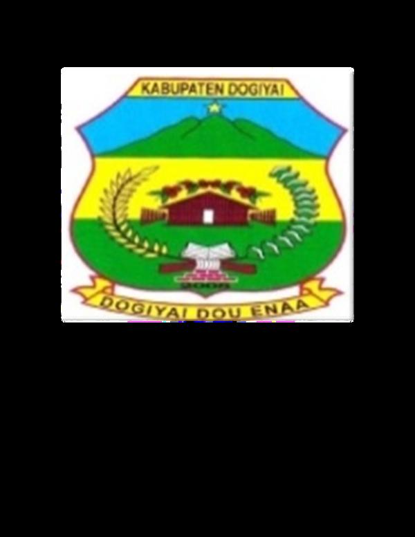 Doc Pemerintah Kabupaten Bupati Kabupaten Dogiyai Aten Bunai Academia Edu