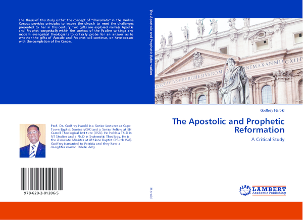 PDF) The Apostolic and Prophetic Reformation: A Critical