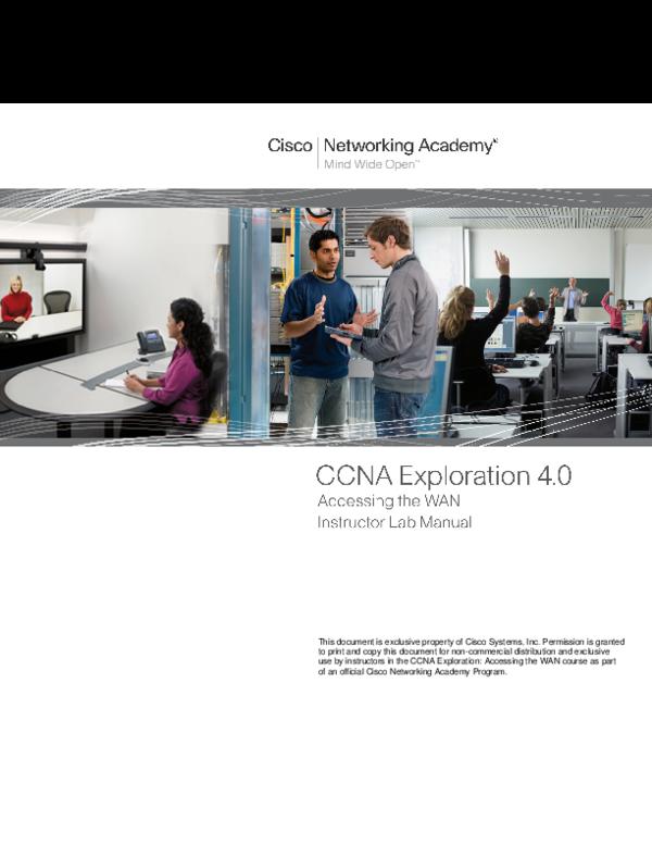 PDF) CCNA Exploration4 Instructor Lab Manual | Byron