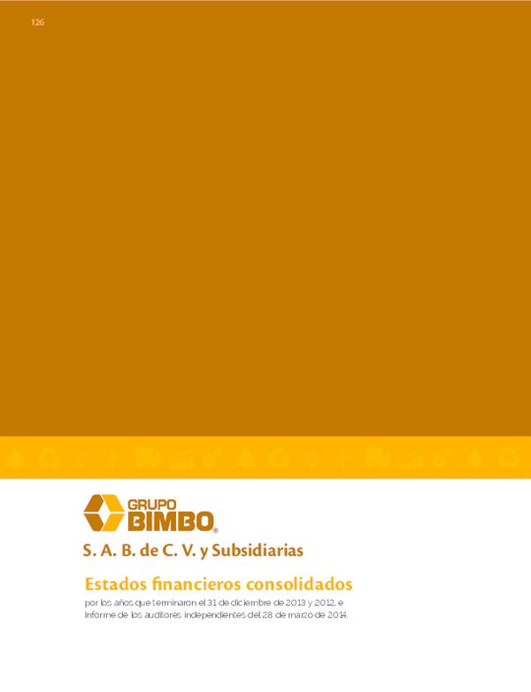 Pdf Grupo Bimbo S A B De C V Y Subsidiarias Karlyyzz