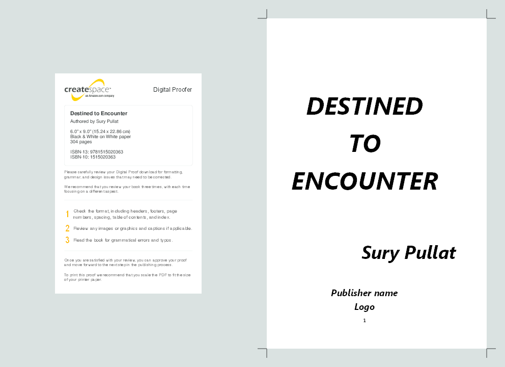 PDF) Destined to Encounter | Suryanarayanan Pullat - Academia edu