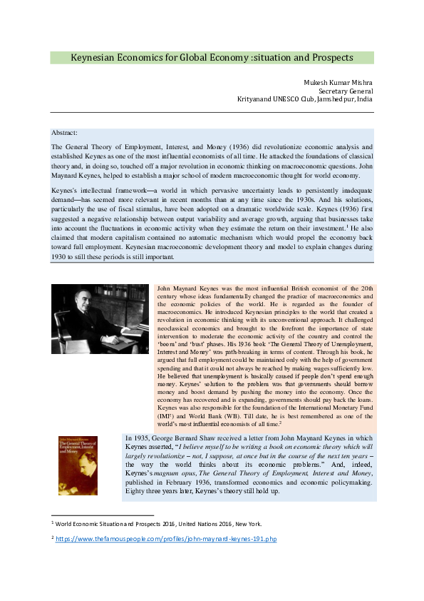 A Treatise On Money Keynes Pdf