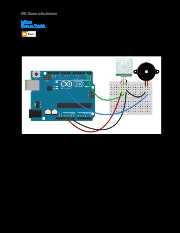 DOC) PIR Sensor with Arduino inShare Share on Tumblr Save