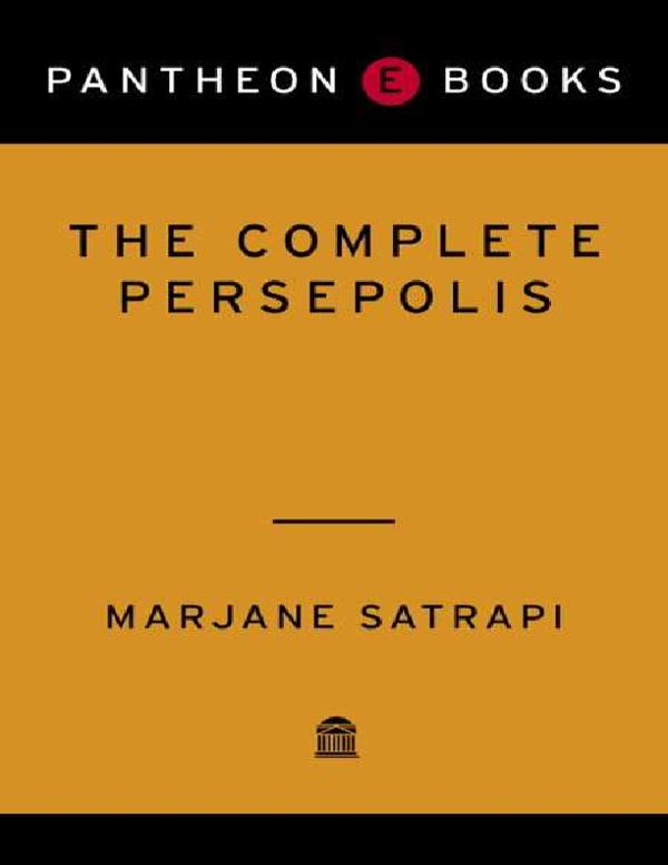 The Complete Persepolis Pdf