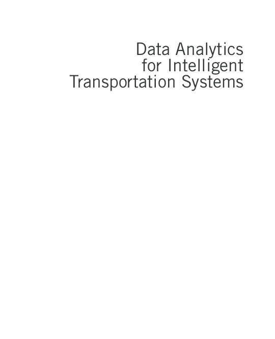 PDF) Data Analytics for Intelligent Transportation Systems