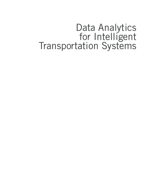 PDF) Data Analytics for Intelligent Transportation Systems | Nauri