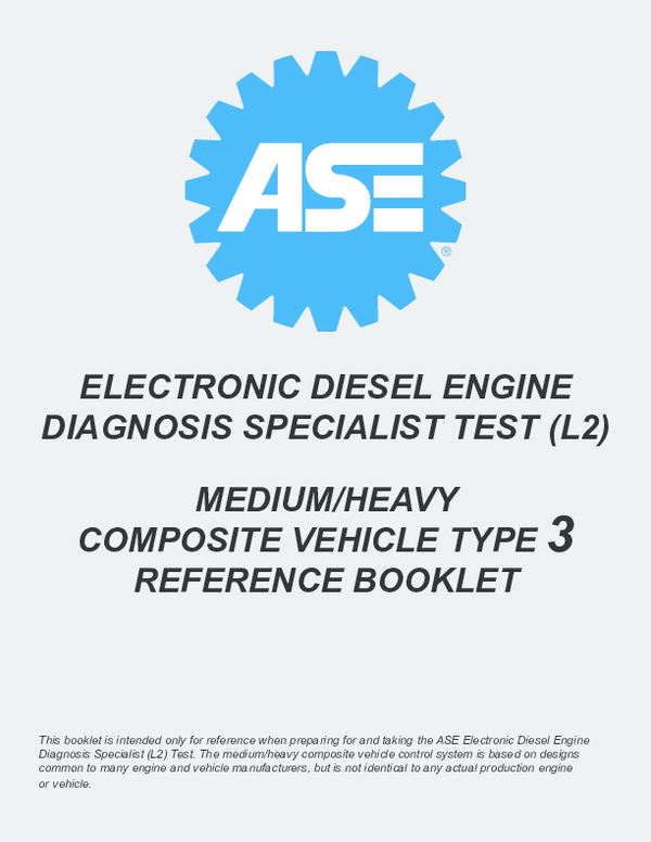 PDF) ELECTRONIC DIESEL ENGINE DIAGNOSIS SPECIALIST TEST (L2
