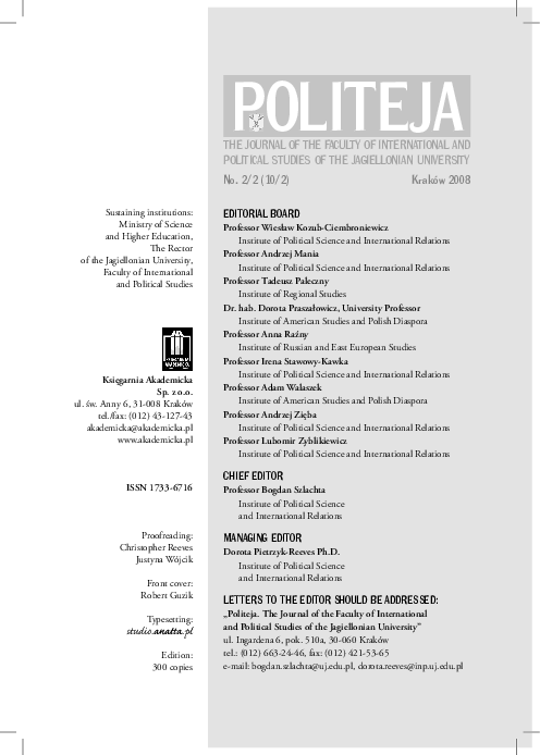 Pdf The Identity Of Cultural Studies Politeja The Journal Of The Faculty Of International And Political Studies Of The Jagiellonian University No 2 2 10 2 Krakow 2008 P 195 207 Joanna Dziadowiec Greganic Academia Edu