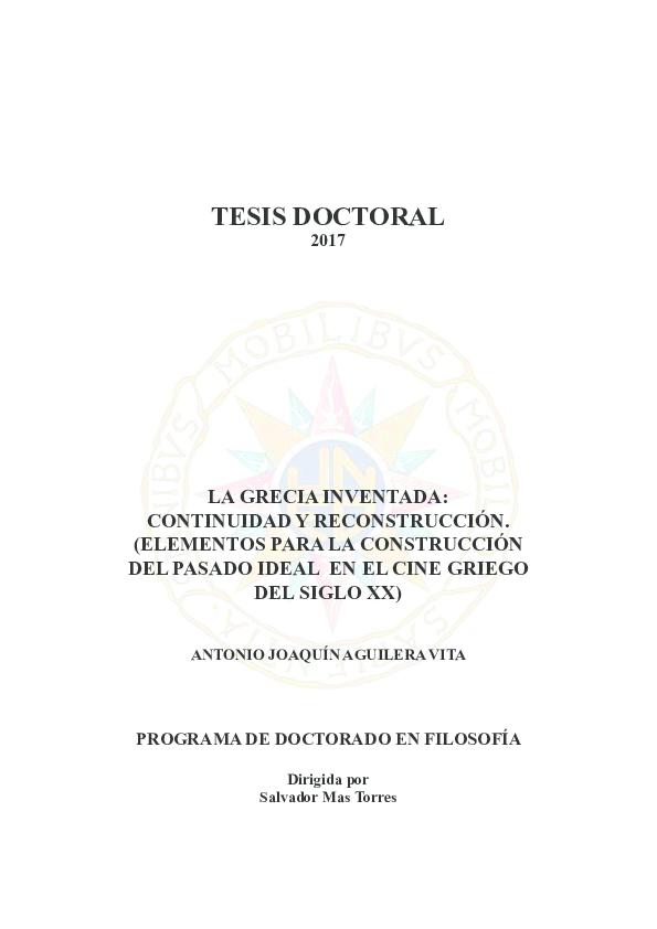 4f2c51e94 PDF) LA GRECIA INVENTADA  CONTINUIDAD Y RECONSTRUCCIÓN. (ELEMENTOS ...