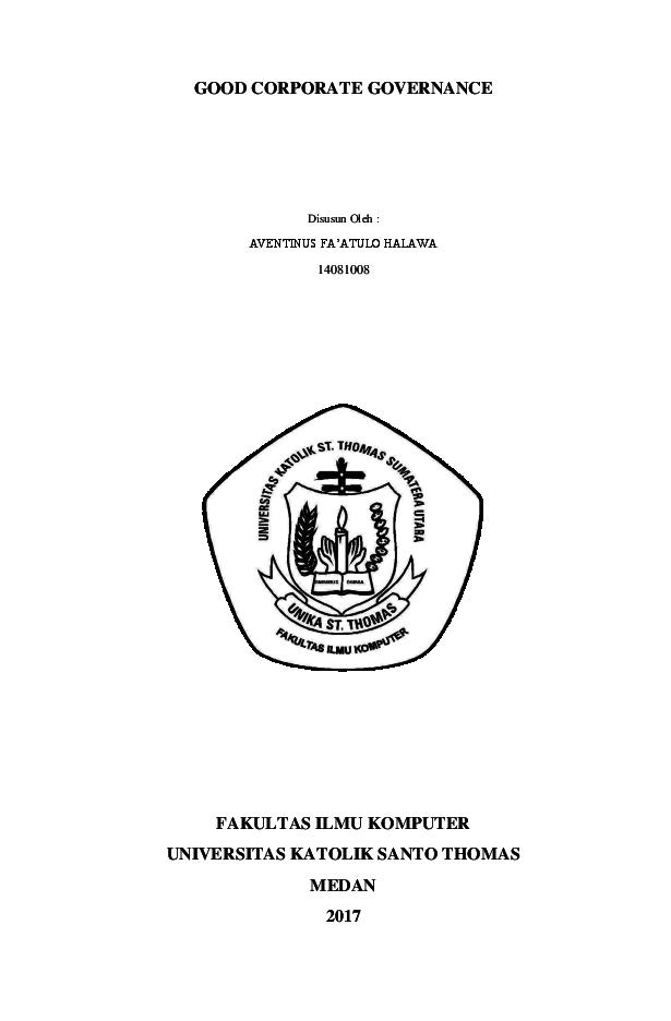 Doc Good Corporate Governance Avent Halawa Academia Edu