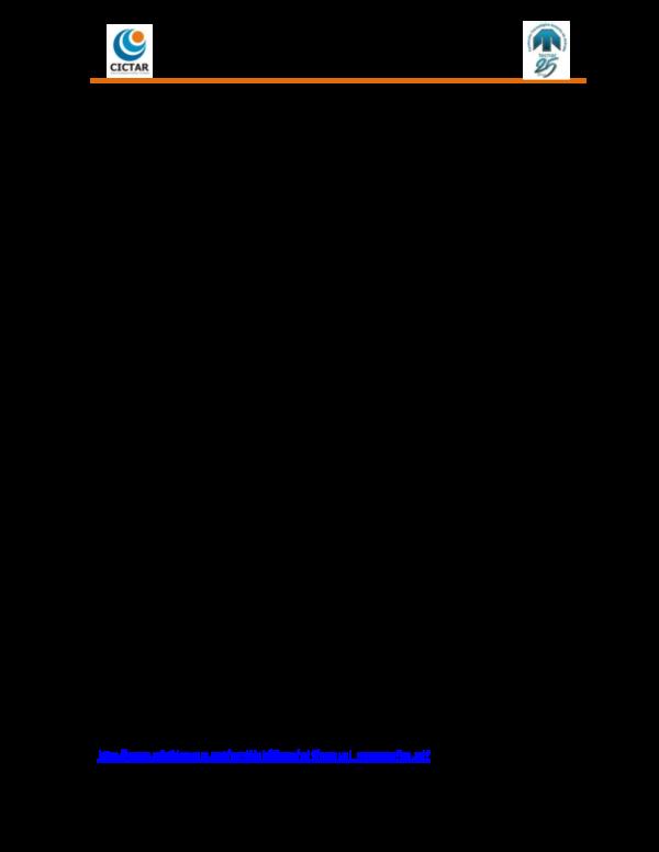 Pdf Centro De Investigaciones Científicas Y Tecnológicas De