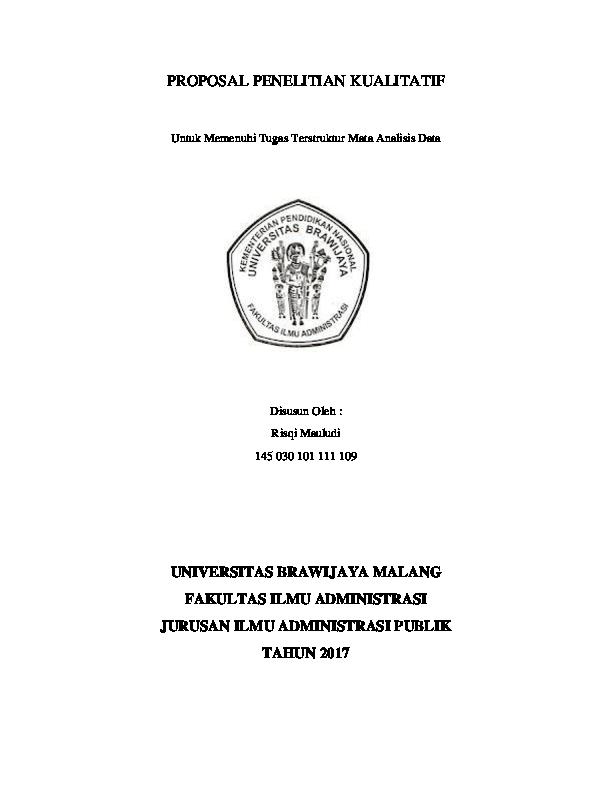 Contoh Skripsi Administrasi Publik Kualitatif Contoh Soal Dan Materi Pelajaran 10