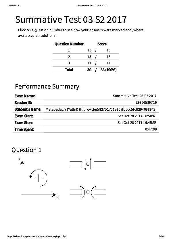 PDF) Swk122 s2 2017 Summative Test 03 S   Yathil Matabadal