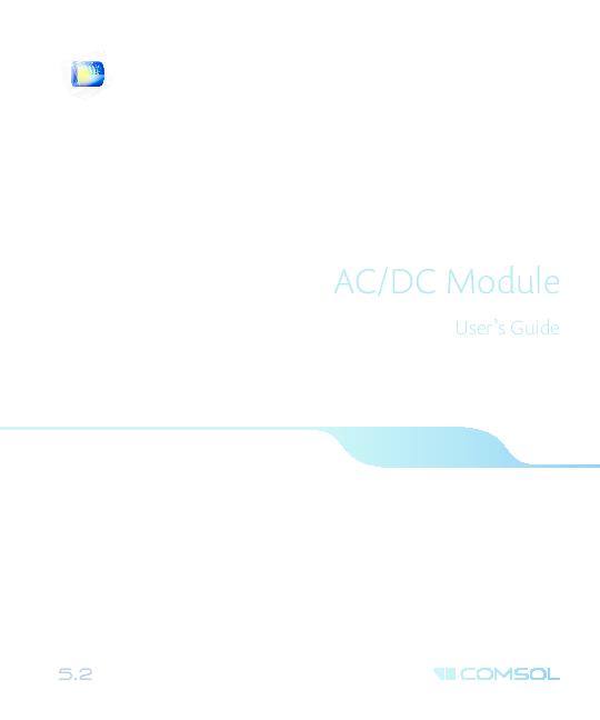 PDF) AC/DC Module User's Guide | Mustafa Buyuk - Academia edu