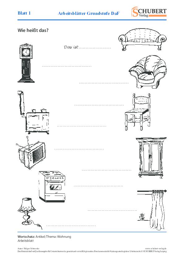 pdf arbeitsbl tter grundstufe daf blatt 1 cintia perez. Black Bedroom Furniture Sets. Home Design Ideas