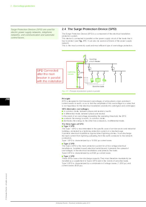 PDF) Schneider Electric -Electrical installation guide 2015