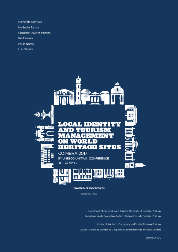 11b94eb986c PDF) Local identity and tourism management on World Heritage sites ...
