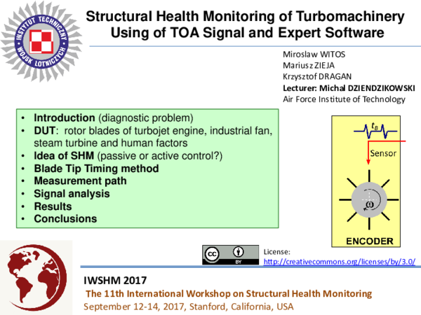 PDF) Structural Health Monitoring of Turbomachinery Using of