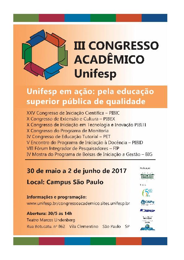 PDF) Anais III Congresso Acadêmico Unifesp  8aac618c2e7