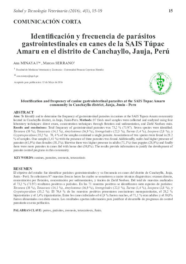 parasitos gastrointestinales pdf