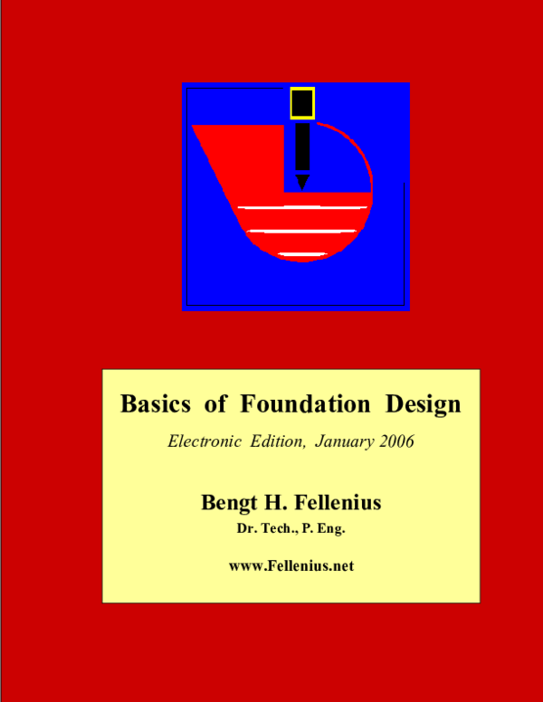 PDF) Basics of Foundation Design | serge hodin - Academia edu