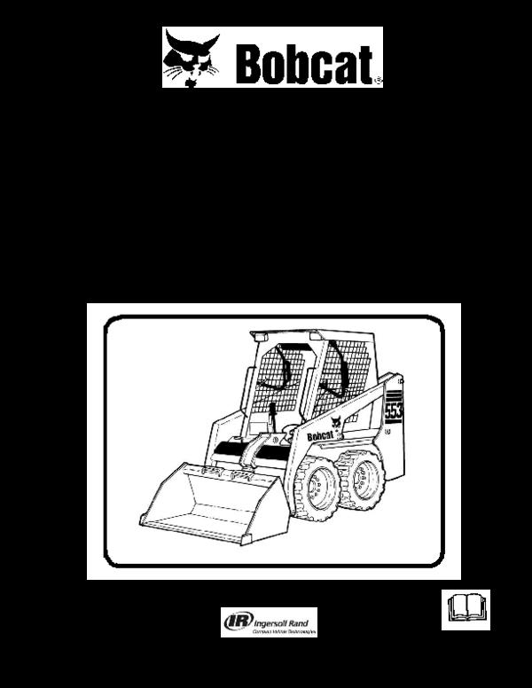PDF) Service Manual 553 Skid-Steer Loader S/N 539112001 & Above S/N