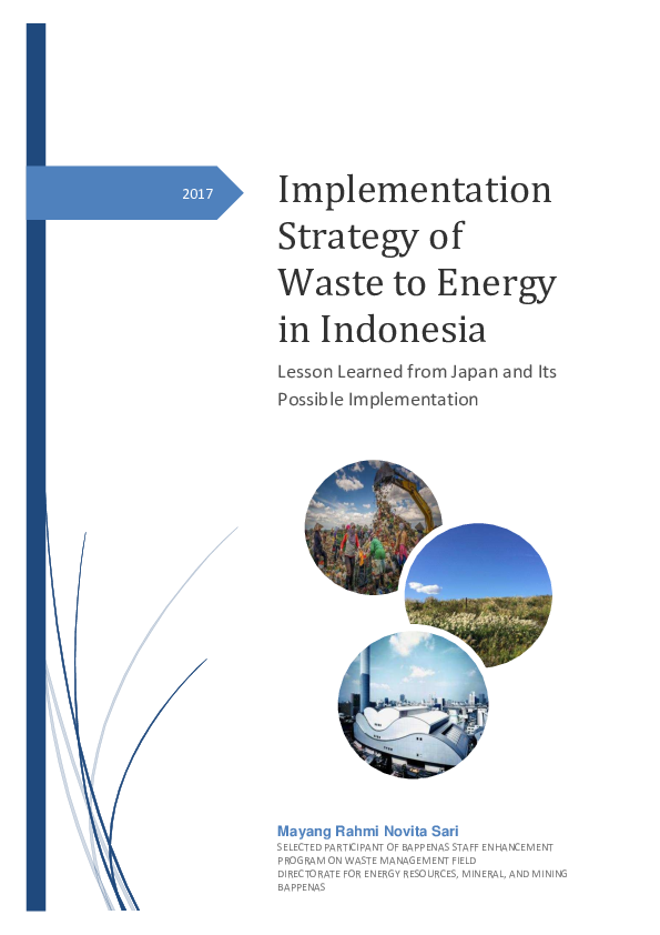 PDF) Implementation Strategy of Waste to Energy in Indonesia