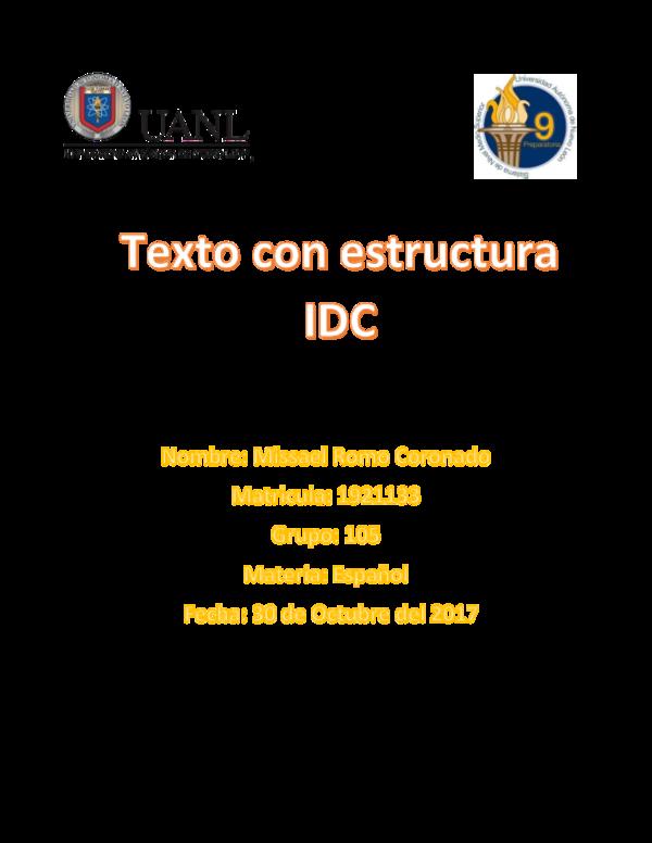 Doc Ensayo Idc Missael Romo Academia Edu
