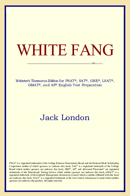 PDF) White Fang (Webster's Thesaurus Edition) - JACK LONDON.pdf ...