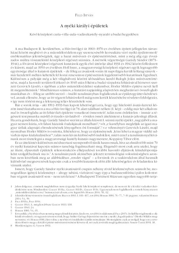3ab0f1e33e PDF) A nyéki királyi épületek. In: Kastélyok évszázadai, évszázadok ...