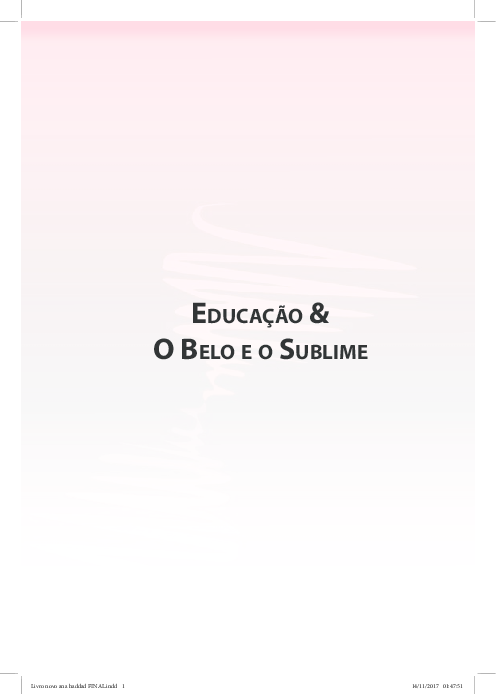 PDF) Educao & O Belo e o Sublime .pdf   Catarina Justus Fischer ...