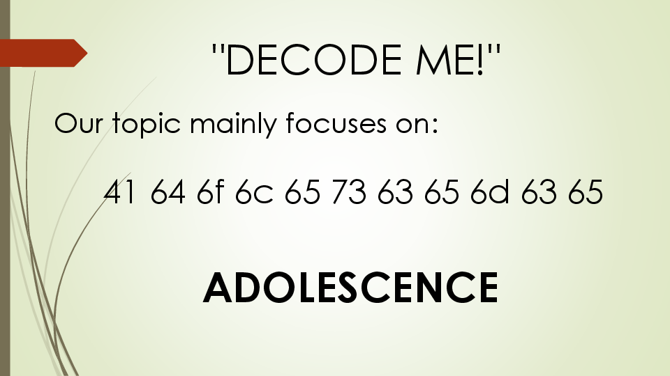 PPT) Development Stages in Middle and Late Adolescence chapter 4