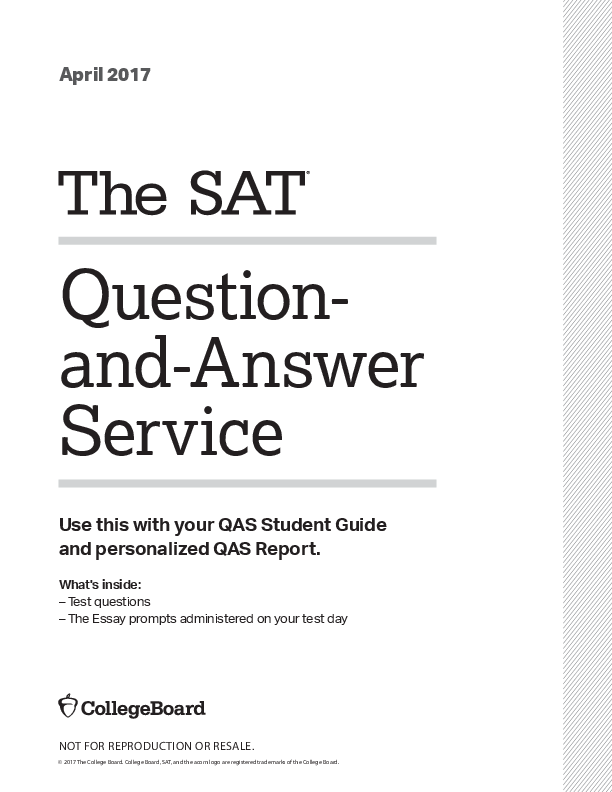 PDF) Question- and-Answer Service Use this with your QAS