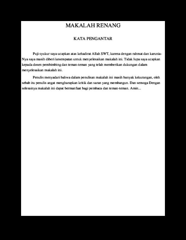 Doc Makalah Renang Yudha Prawira Academia Edu