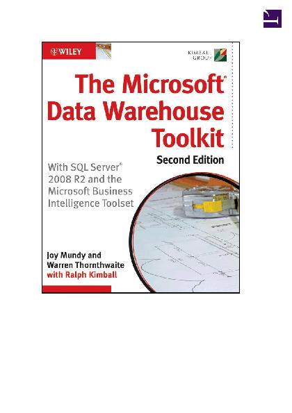 PDF) The Microsoft Data Warehouse Toolkit 2nd Edition | minh