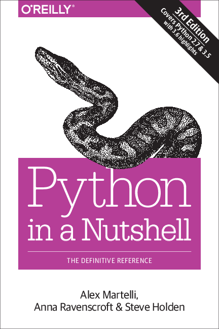 PDF) Python in a Nutshell THE DEFINITIVE REFERENCE | IES SM