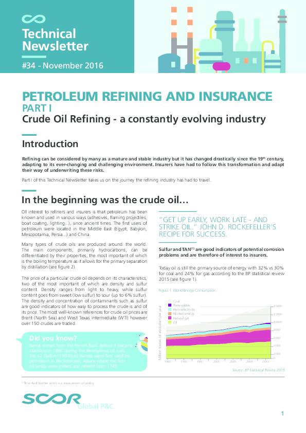 PDF) Evolución y retos de la refinación en el mundo