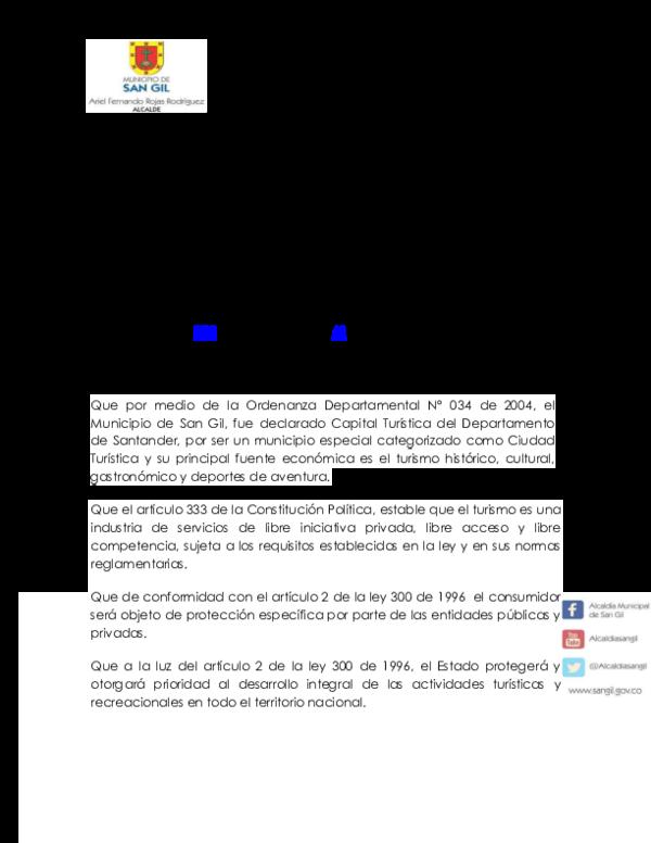 ecc19985ffdec PDF) DECRETO REGLAMENTACION TURISMO