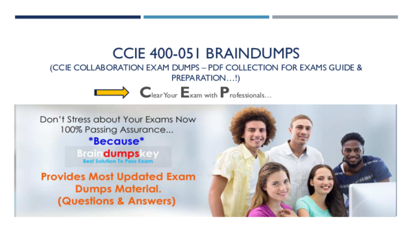 PDF) CCIE 400-051 BRAINDUMPS Clear Your Exam with