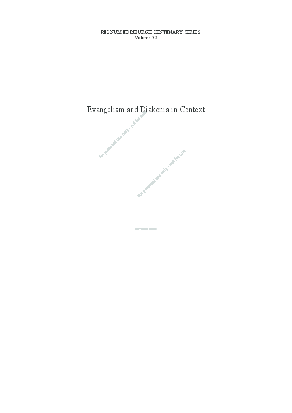e00b8d65c28b25 PDF) DIAKONIA IN THE EAST AFRICAN REVIVAL MOVEMENT