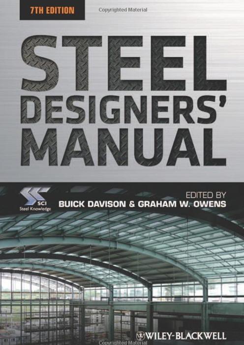 PDF) STEEL_DESIGNERS_MANUAL_SEVENTH_EDITION.pdf | Salah Al-Fahad ...