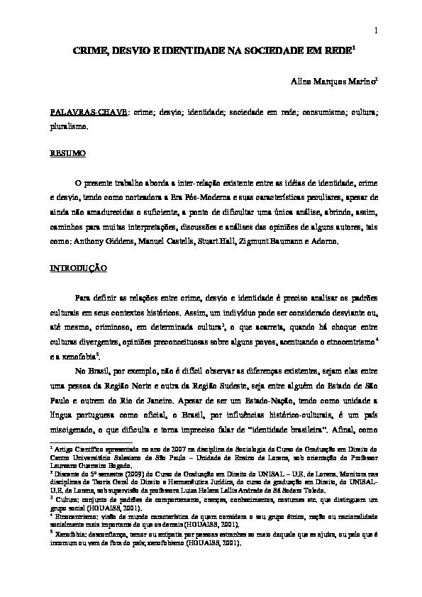 A Sociedade Em Rede Castells Pdf