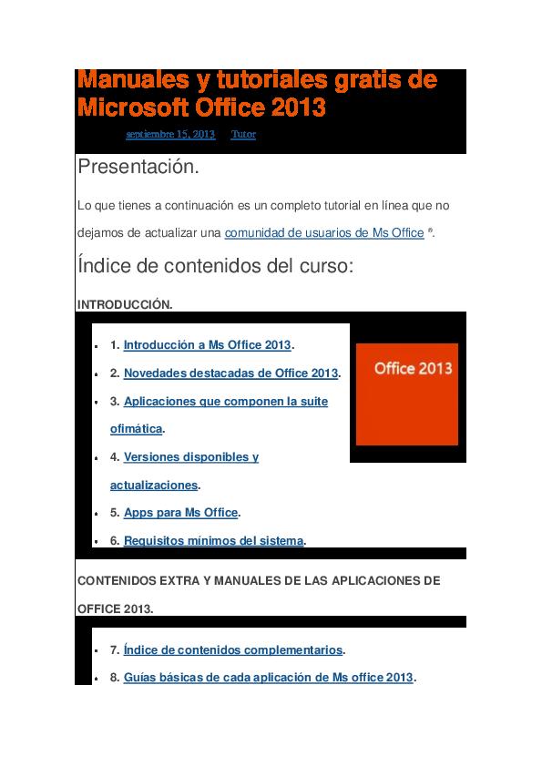 descargar office 2013 gratis en español completo activado softonic