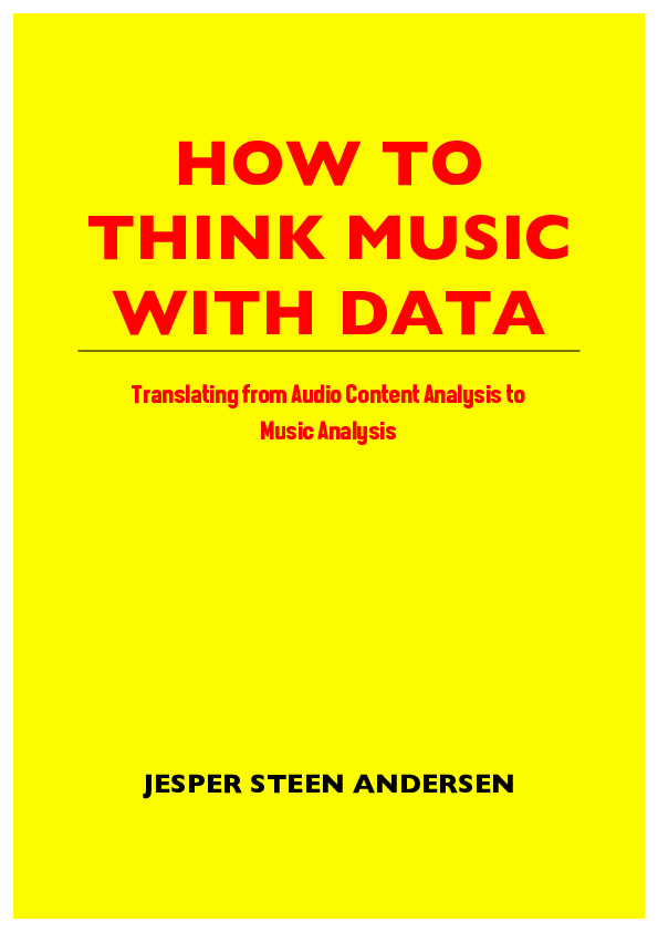 PDF) HOW TO THINK MUSIC WITH DATA Translating from Audio