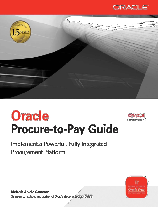 DOC) Oracle Procure to Pay Guide April | Praveen Srinivasan