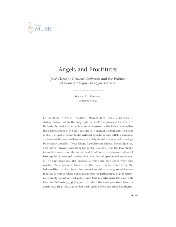 PDF) Angels and Prostitutes | Mary Coffey - Academia edu
