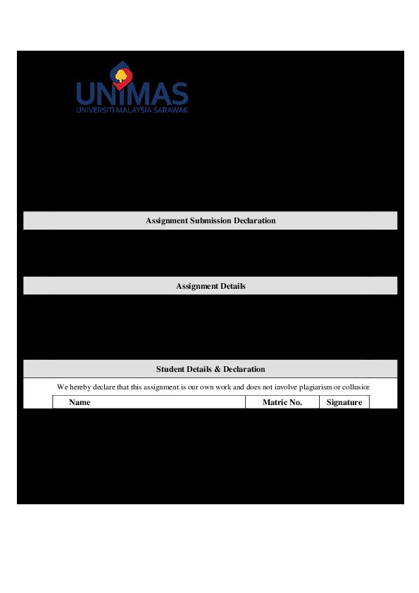 DOC) FINAL ASSIGNMENT FINANCE   saurah studio - Academia edu
