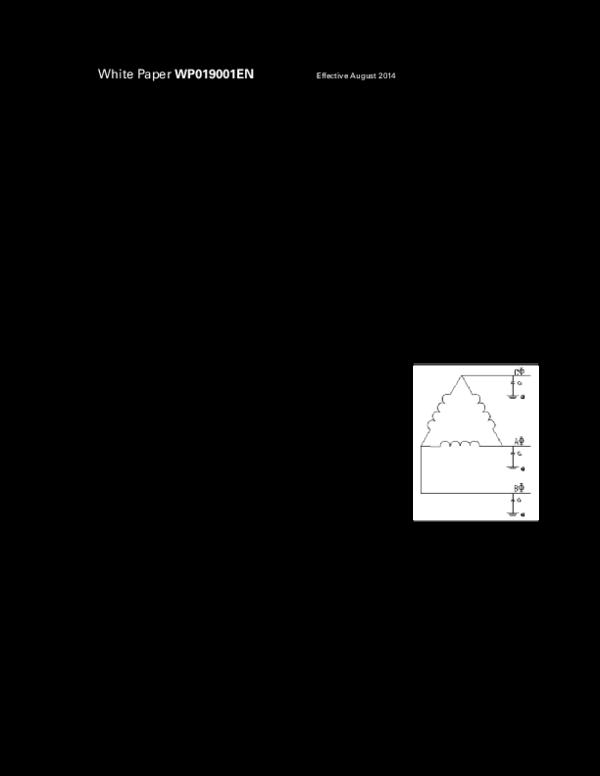 PDF) Low voltage high resistance grounding system basics, C-HRG