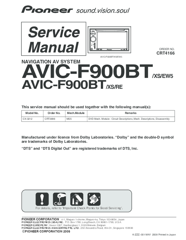 Avic Test Mode Download
